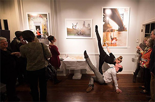 Dancers Among Us in Philly at the Carol Schwartz Gallery