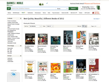 Dancers Among Us on Barnes and Noble front page.