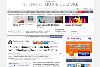 Dancers Among Us in Huffington Post