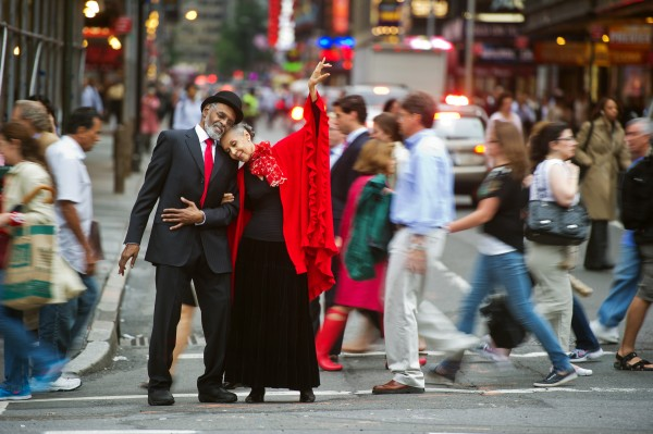 "Happy Anniversary - ""Stepping Out with My Baby"", Gus Solomons jr and Carmen de Lavallade, in New York, NY"