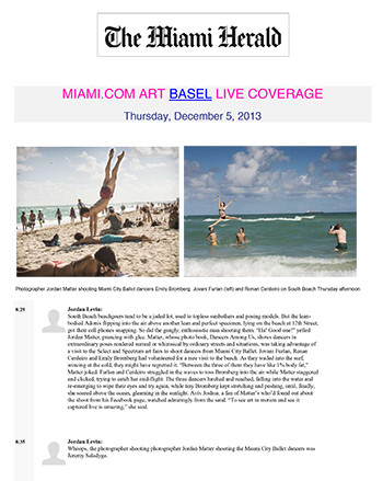 Miami Herald Art Basel Live Coverage