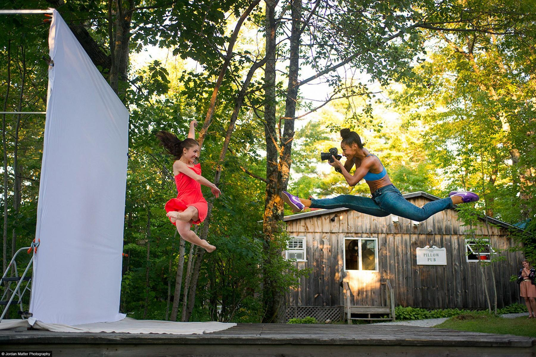 Jacob's Pillow, MA - Madeline Campisano and Rena Butler